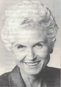 Freda Meissner-Blau. Bild: Archiv der Bundespartei