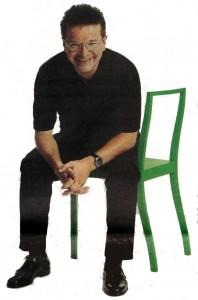 Rudi Anschober auf dem grünen Regierungssitz auf der Titelseite des OÖ Planet 29/2003 (Grünes Archiv)