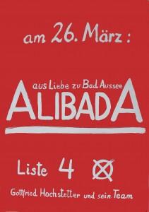 am 26. März: Alibada (Grünes Archiv, Sammlung Gottfried Hochstetter). Photo: Ines Handler