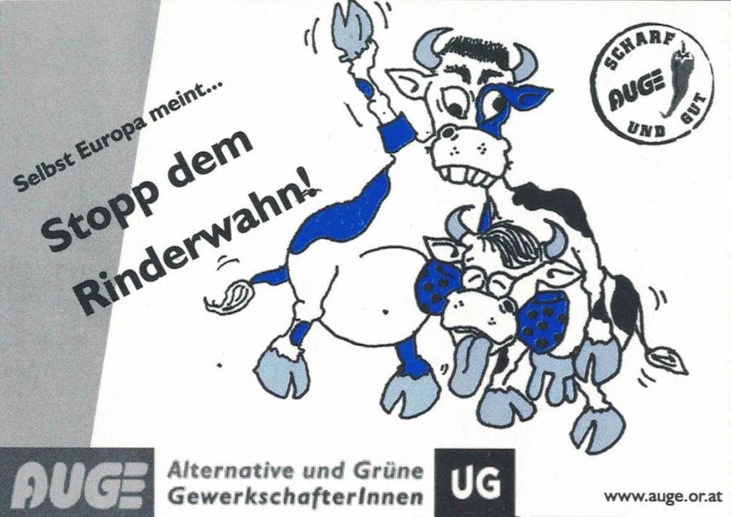 AUGE/UG: Stopp dem Rinderwahn!