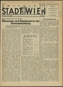 Franz Schuster: Ökonomie und Schönheit in der Ortsentwicklung (1952)