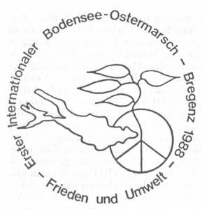 Logo des Bodensee-Ostermarsches.