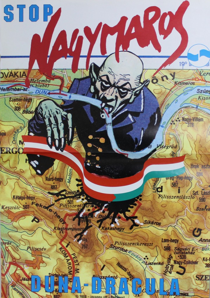 Stop Nagymaros. Duna Dracula (Grünes Archiv)