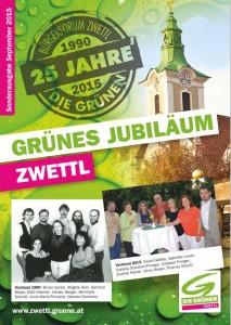 """Festschrift """"Grünes Jubiläum Zwettl""""."""