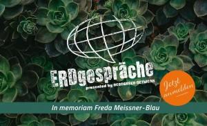 ERDgespräche 2016 in memoriam Freda Meissner-Blau.