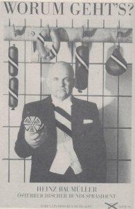 """Heinz Baumüller """"angefressen""""."""