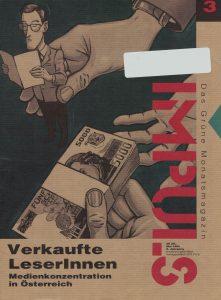 Cover der Ausgabe Mai 1993 von Impuls grün (Grünes Archiv).