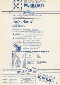 Rent-a-demo (1987)