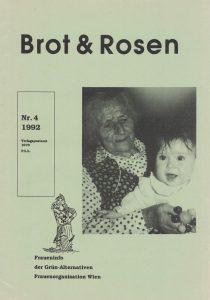 "Cover von ""Brot & Rosen"" 4/1992."