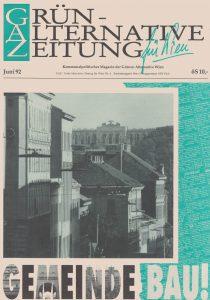 Die GAZ vom Juni 1992 berichtete über den Bundeskongress in Gmunden.