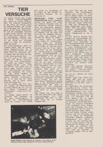 J.M. Schiele über Tierversuche.