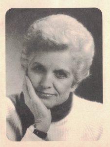 Freda Meissner-Blau. PhotographIn: nicht angegeben