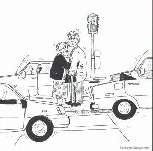 Wenn die Grünphasen zu kurz sind... Cartoon: Markus Koza