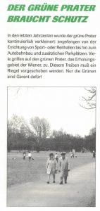Der grüne Prater braucht Schutz (Die Grünen Leopoldstadt, o.J.)