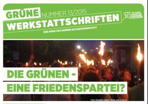 Wilfried Graf über die Grünen als Friedenspartei.