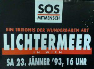 Allianz der Anständigkeit: SOS Mitmensch. Wienbibliothek im Rathaus, Legat Dieter Schrage, C-323087