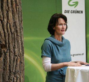 Eva Glawischnig. Foto: De Grünen Österreich