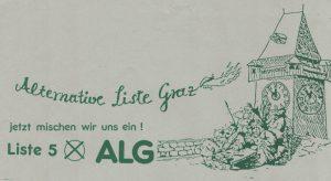 Alternative Liste Graz - jetzt mischen wir uns ein!