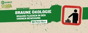 """""""Braune Ökologie"""" im Fokus zweier Workshops in Salzburg und St. Johann/Pongau."""