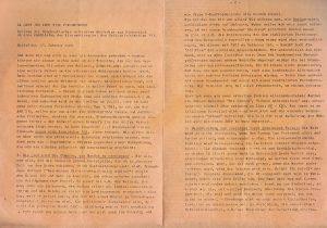 die Demokratische Initiative Schärding über eine Kandidatur bei der Nationalratswahl 1983.