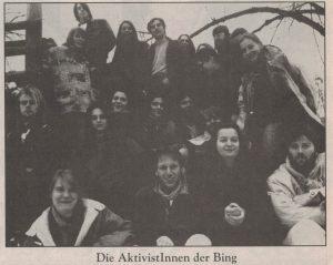 Die BING (Basis Initiative Nawi Grüne).