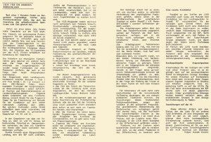 Harald Vinzenz Holper berichtete im Alternativenrundbrief über die LIAB.