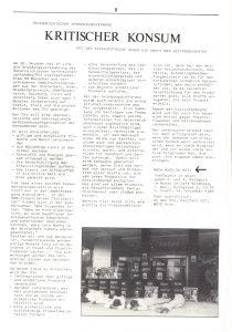 1984 wurde der Österreichische Verbraucherverband gegründet, der sich in der Netzwerk-Zeitung vorstellte.