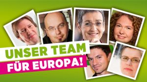 Unser Team für Europa: die ersten sechs Listenplätze für die Europaparlamentswahl 2014.