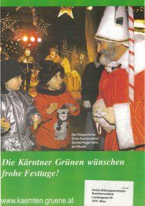 Gerald Hugo Hahn als Nikolaus.