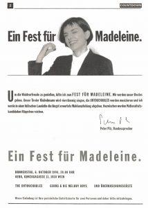 Einladung zum Fest für Madeleine (1994)